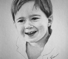 Aiden 5″x7″ graphite on paper