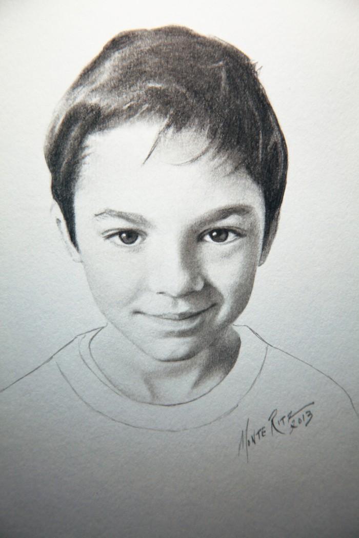 Nate 5″x7″ graphite on paper