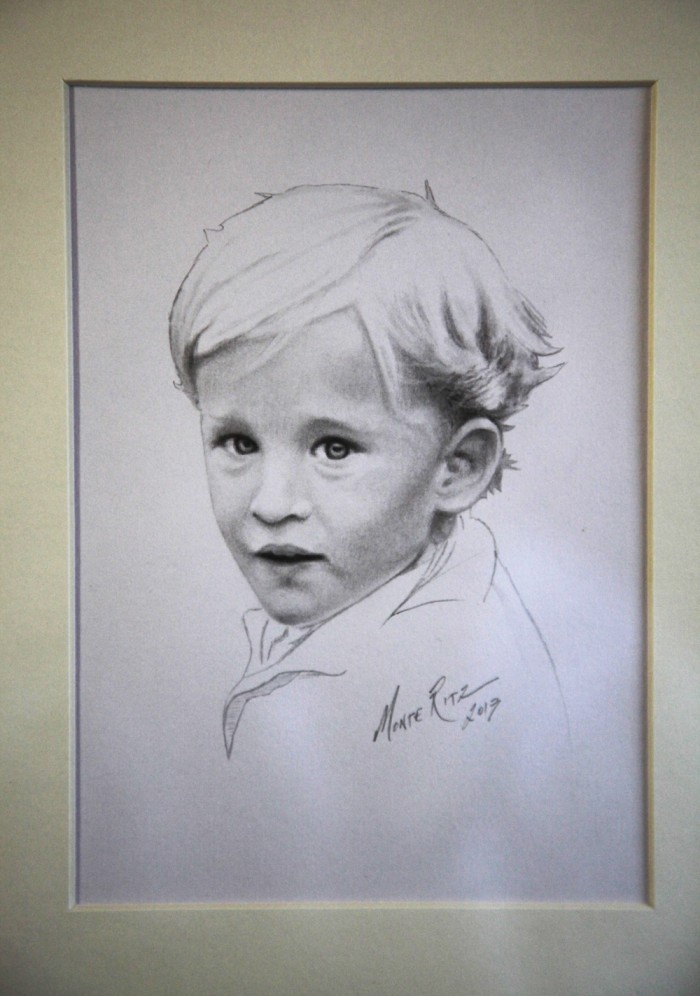 Colin 5″x7″ graphite on paper