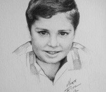 Diego 5″x7″ graphite on paper