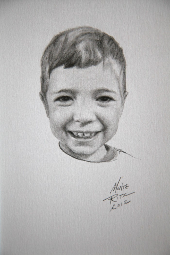 Henry 5″x7″ graphite on paper