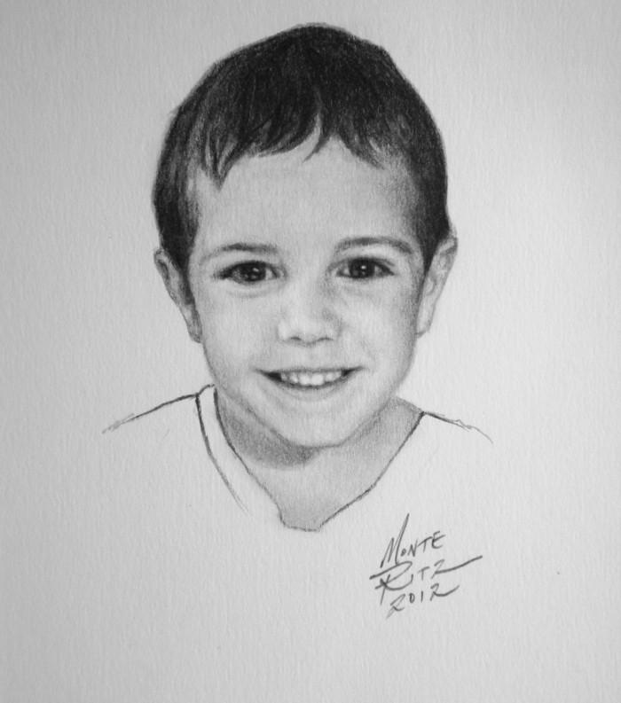 Sebi 5″x7″ graphite on paper