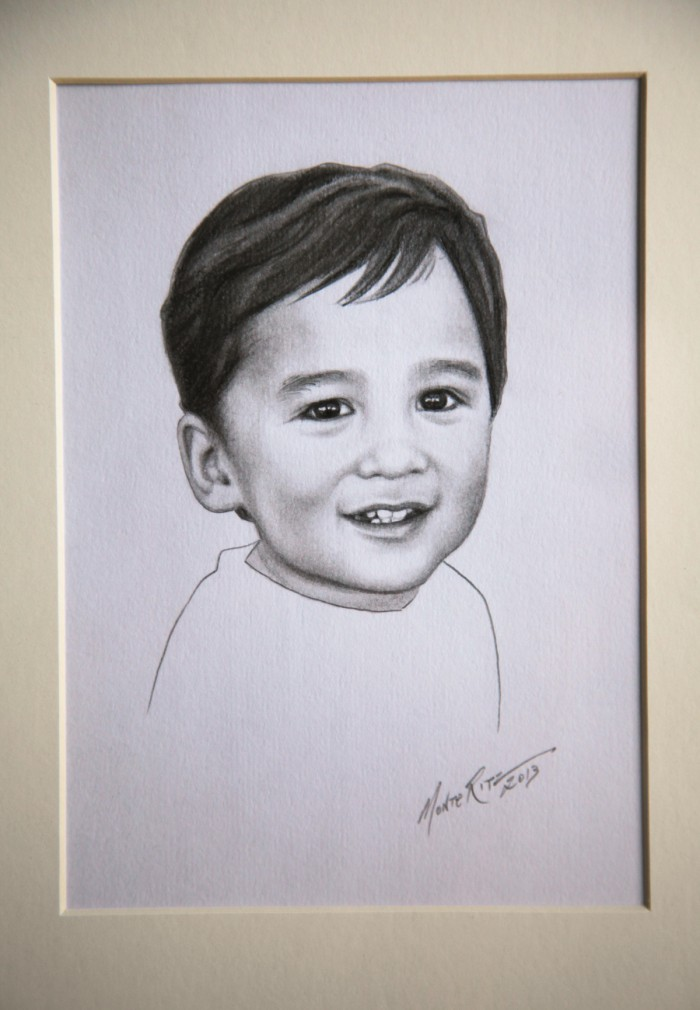 Harry 5″x7″ graphite on paper | Tiny Portrait