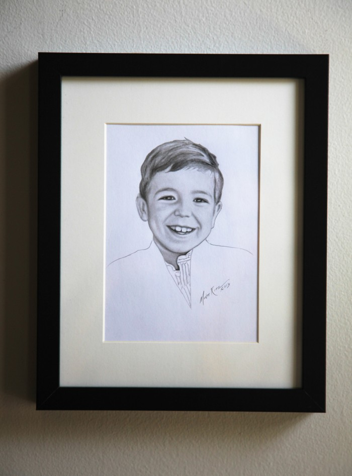 Henry 5″x7″ graphite on paper | Tiny Portrait