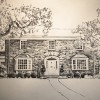 8″x10″ Graphite on paper | Westchester, NY