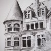 11″x17″ graphite on paper | Montrose Morris House Brooklyn, NY