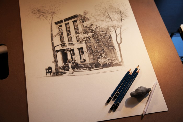 11″x17″ graphite on paper