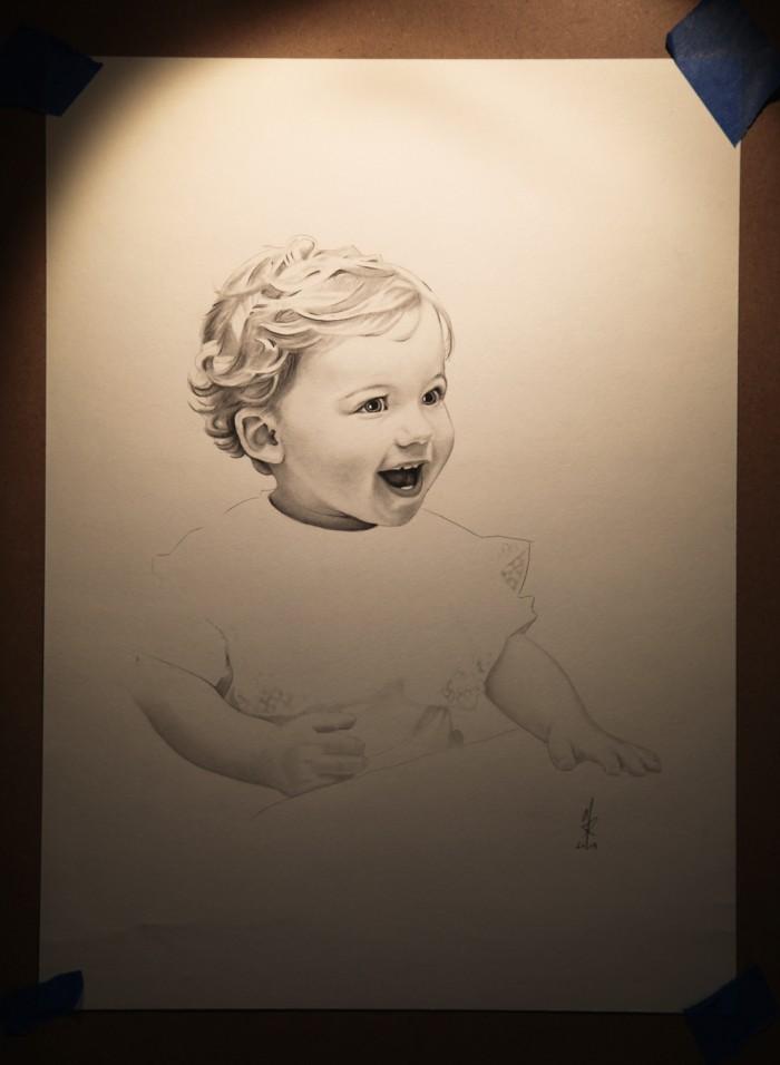 11″x14″ graphite on paper